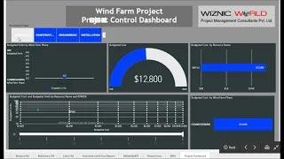 Dynamic Dashboard for Primavera P6 | Wiznic World